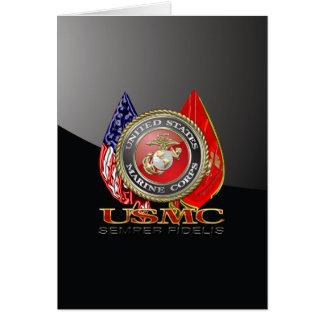 Cartão USMC Semper Fi [edição especial] [3D]