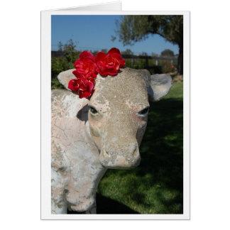 Cartão Vaca do sul