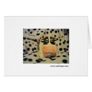 Cartão Vaca-mooFlage