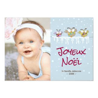 Cartão Vacances de Joyeux Noël carte de foto de