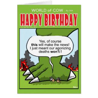 Cartão Vacas de interesse jornalístico