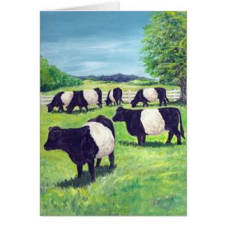 Cartão Vacas do biscoito de Oreo!