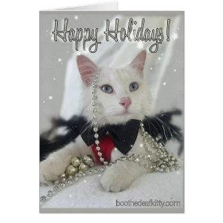 Cartão Vaia da festa natalícia