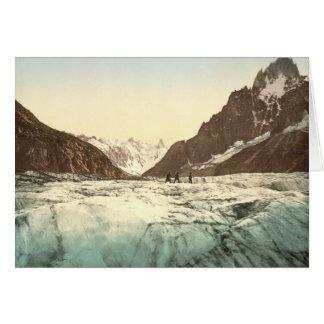Cartão Vale de Chamonix - Mer de Glace