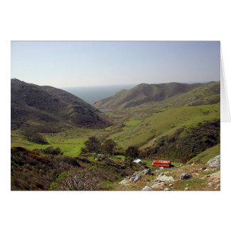 Cartão Vale de Tennessee, Marin County, CA
