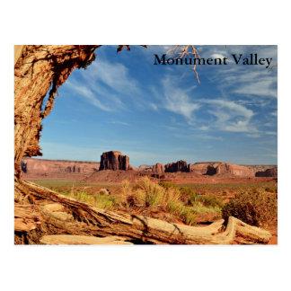 Cartão - vale do monumento