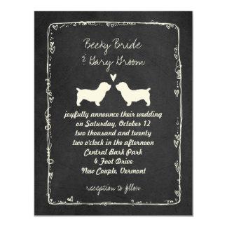 Cartão Vale dos terrier de Imaal que Wedding economias a