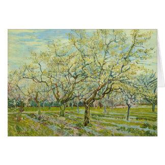 Cartão Van Gogh o pomar branco