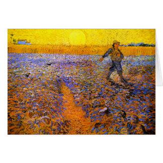 Cartão Van Gogh: O Sower