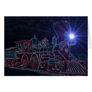 Cartão Vapor da noite