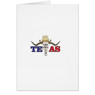 Cartão vaqueiro inoperante texas