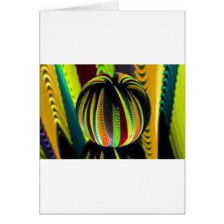 Cartão Variação ColoursI na bola
