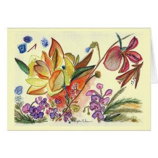 Cartão Variação Orchid30