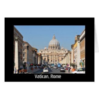 Cartão Vaticano, Roma, Italia