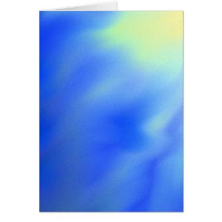 Cartão vazio abstrato do sol e do céu