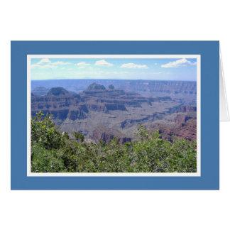 Cartão Vazio - borda norte do Grand Canyon
