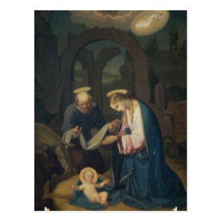 Cartão (vazio/costume): Nascimento do cristo