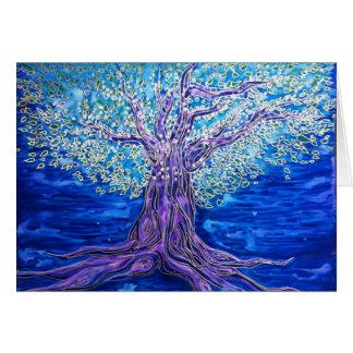 Cartão vazio da árvore de Orion