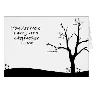Cartão vazio da madrasta
