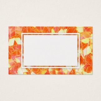 Cartão vazio de vidro da faísca do brilho do sonho