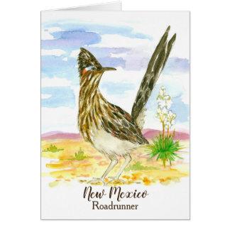 Cartão Vazio do pássaro de estado de New mexico do