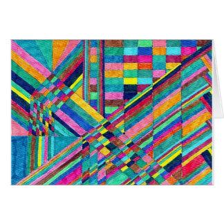 Cartão vazio dos Pastels from 1960 do estudo da