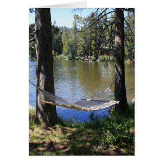 Cartão vazio, Hammock da beira do lago