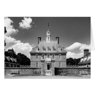 Cartão vazio - o palácio do governador