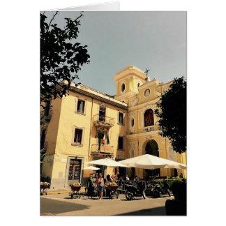 Cartão vazio Sorrento de Italia