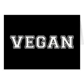 Cartão Vegan