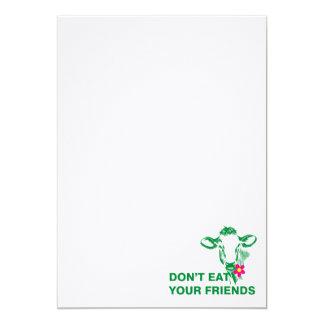 Cartão Veganismo