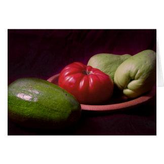 Cartão Vegetais dos trópicos