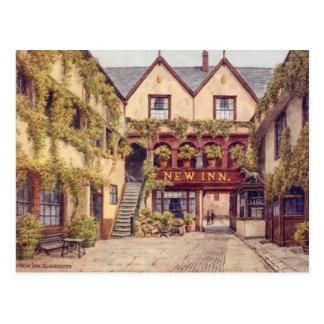 Cartão velho - a pensão nova, Gloucester