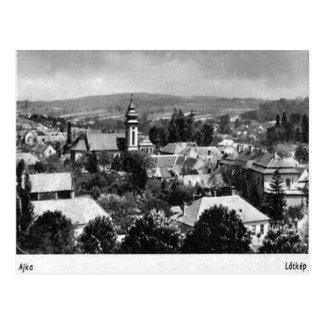 Cartão velho - Ajka, Hungria