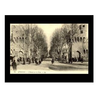 Cartão velho - Avignon