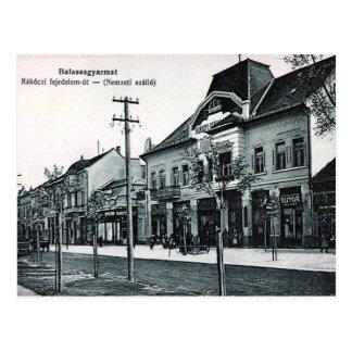 Cartão velho - Balassagyarmat, Hungria