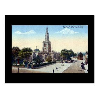 Cartão velho, Bedford em 1923