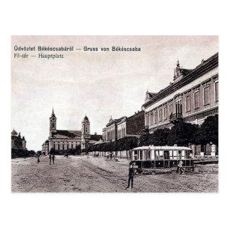 Cartão velho - Békéscsaba, Hungria