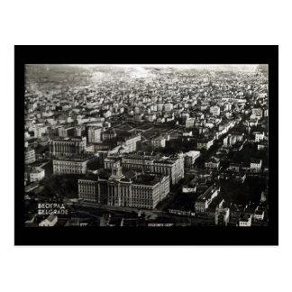 Cartão velho - Belgrado