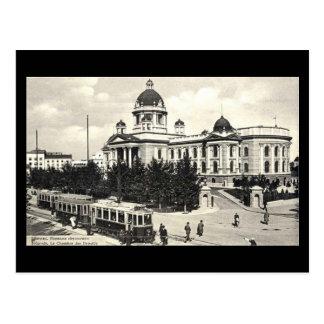 Cartão velho, Belgrado em 1940