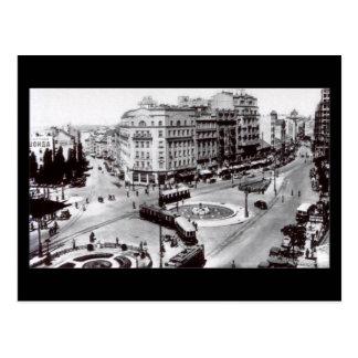 Cartão velho, Belgrado, Terazije em 1939