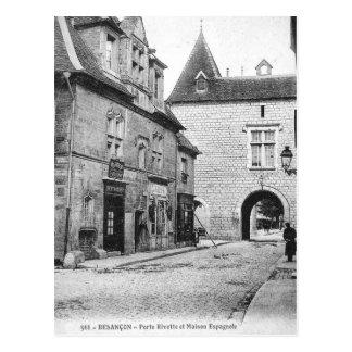 Cartão velho - Besançon, Doubs, France