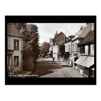 Cartão velho, Bexhill-em-Mar, Sussex