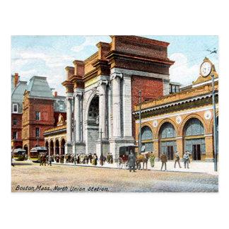 Cartão velho - Boston, Massachusetts, EUA