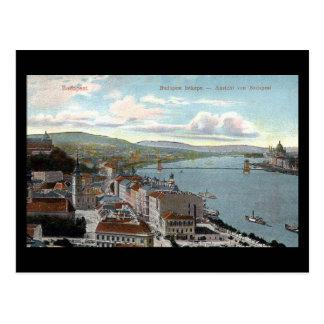Cartão velho - Budapest 1914