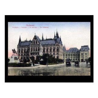 Cartão velho - Budapest, o parlamento 1913