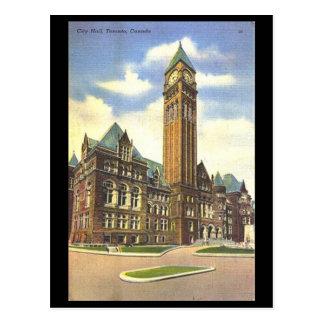 Cartão velho - câmara municipal, Toronto, Ontário