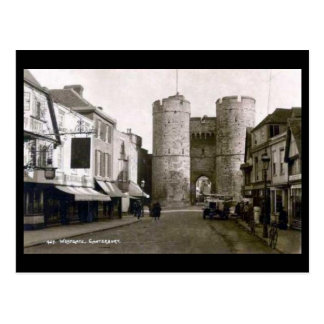 Cartão velho - Canterbury, Kent