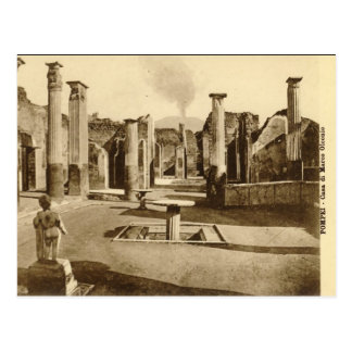 Cartão velho - Casa di Marco Olconio Cartao Postal