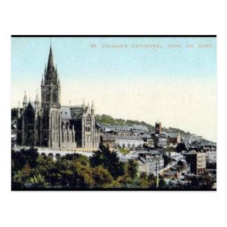 Cartão velho - Cobh, cortiça do Co, Ireland